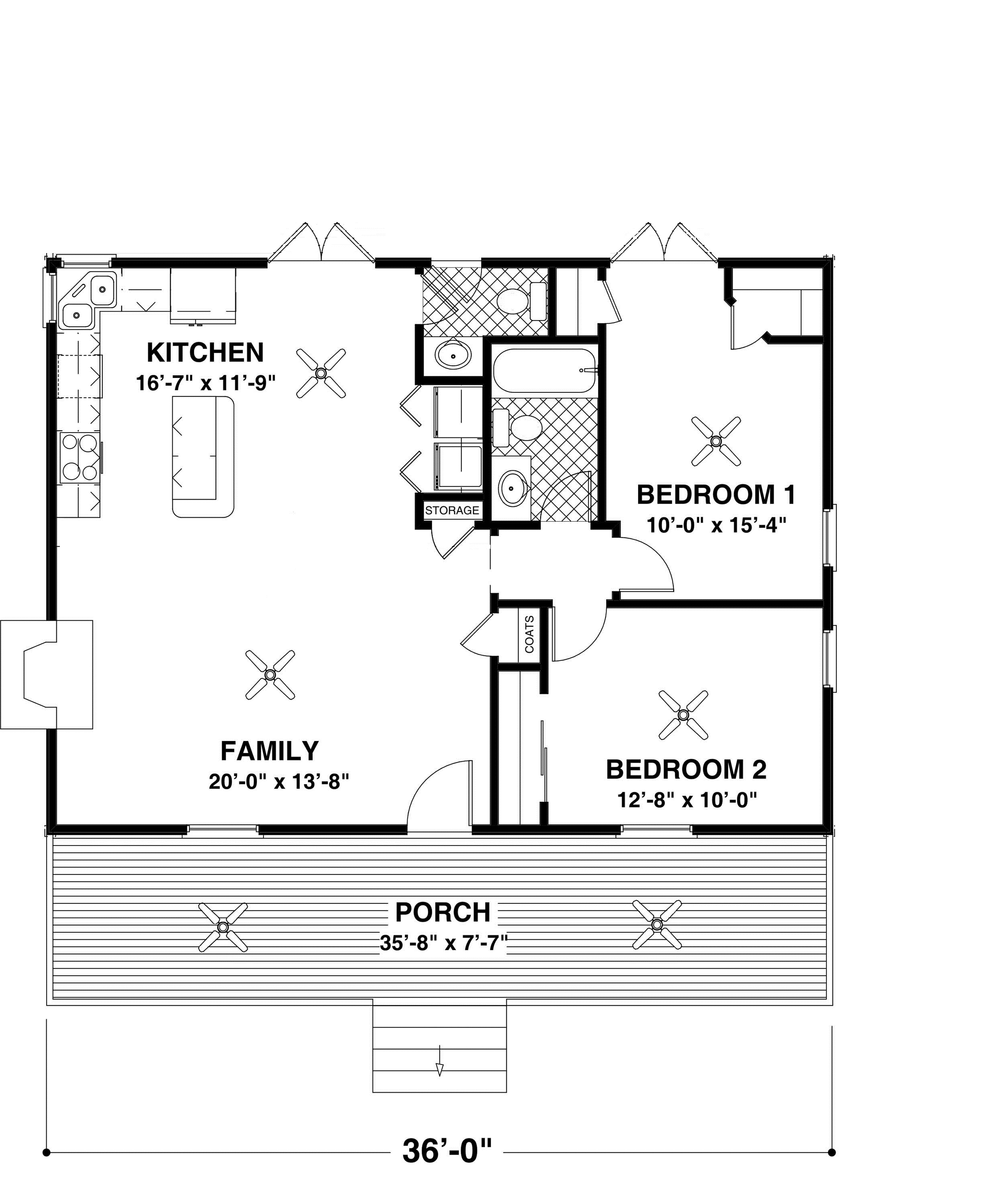 Rocking chair retreat floor plan sdl custom homes for Custom house plans online