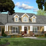 beautiful cape cod style home plan