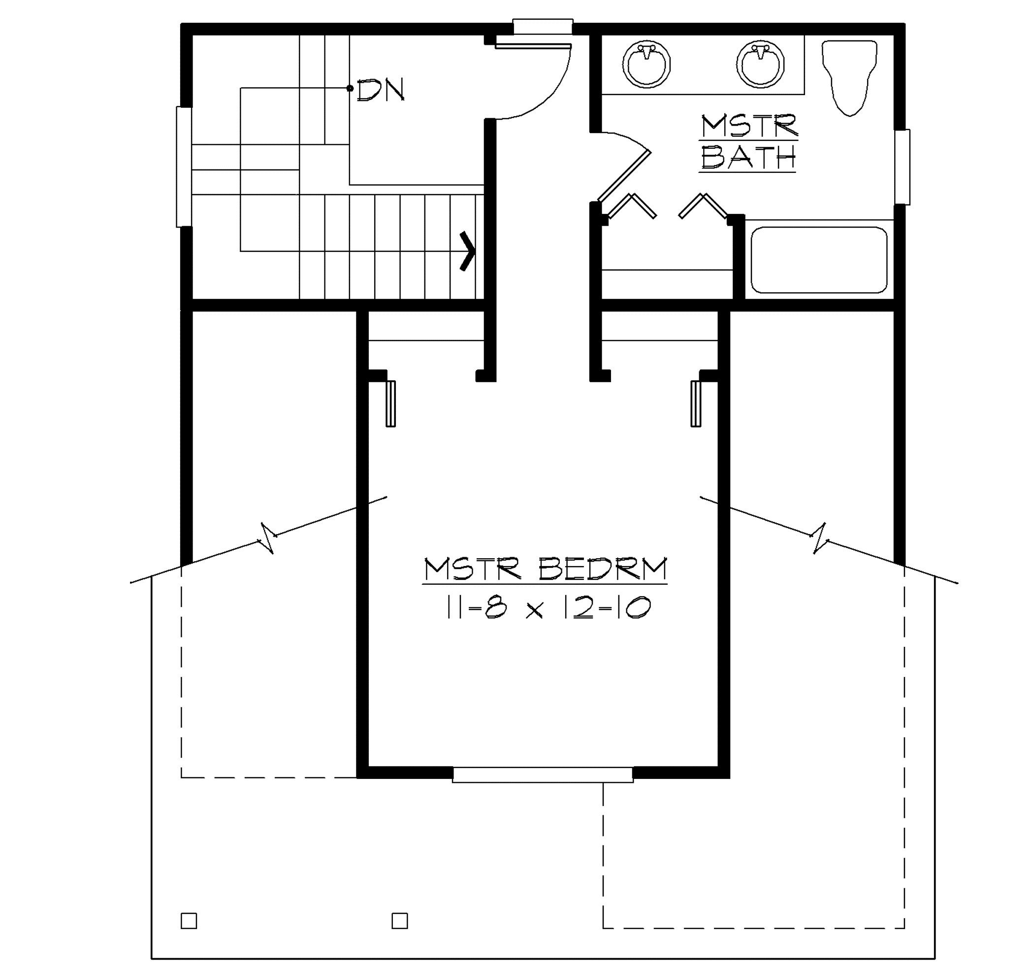 Small house plan second floor layout sdl custom homes for Small house design 2nd floor