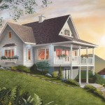 cape cod style cottage home plan