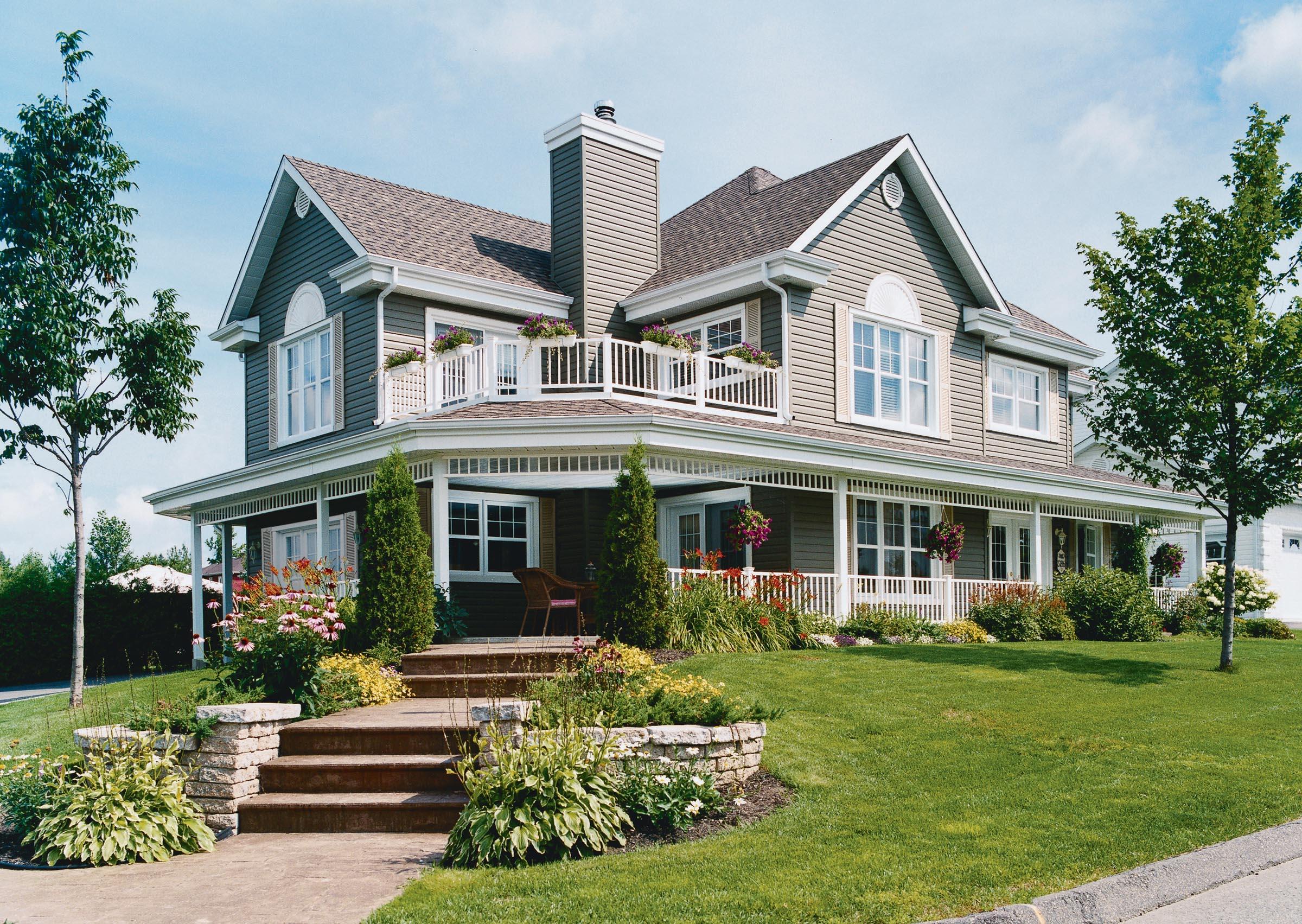 Three Bedroom House Plan With Wraparound Porch Sdl Custom Homes