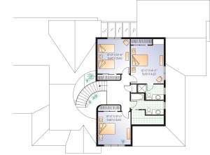 A Home Office Plan Image - Floor 2
