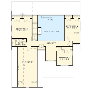 This Plan Exudes Tradition Plan Image - Floor 2