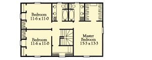Classic Traditional Plan Image - Second Floor