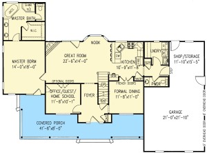 Timeless Country Victorian Plan Image - Floor 1