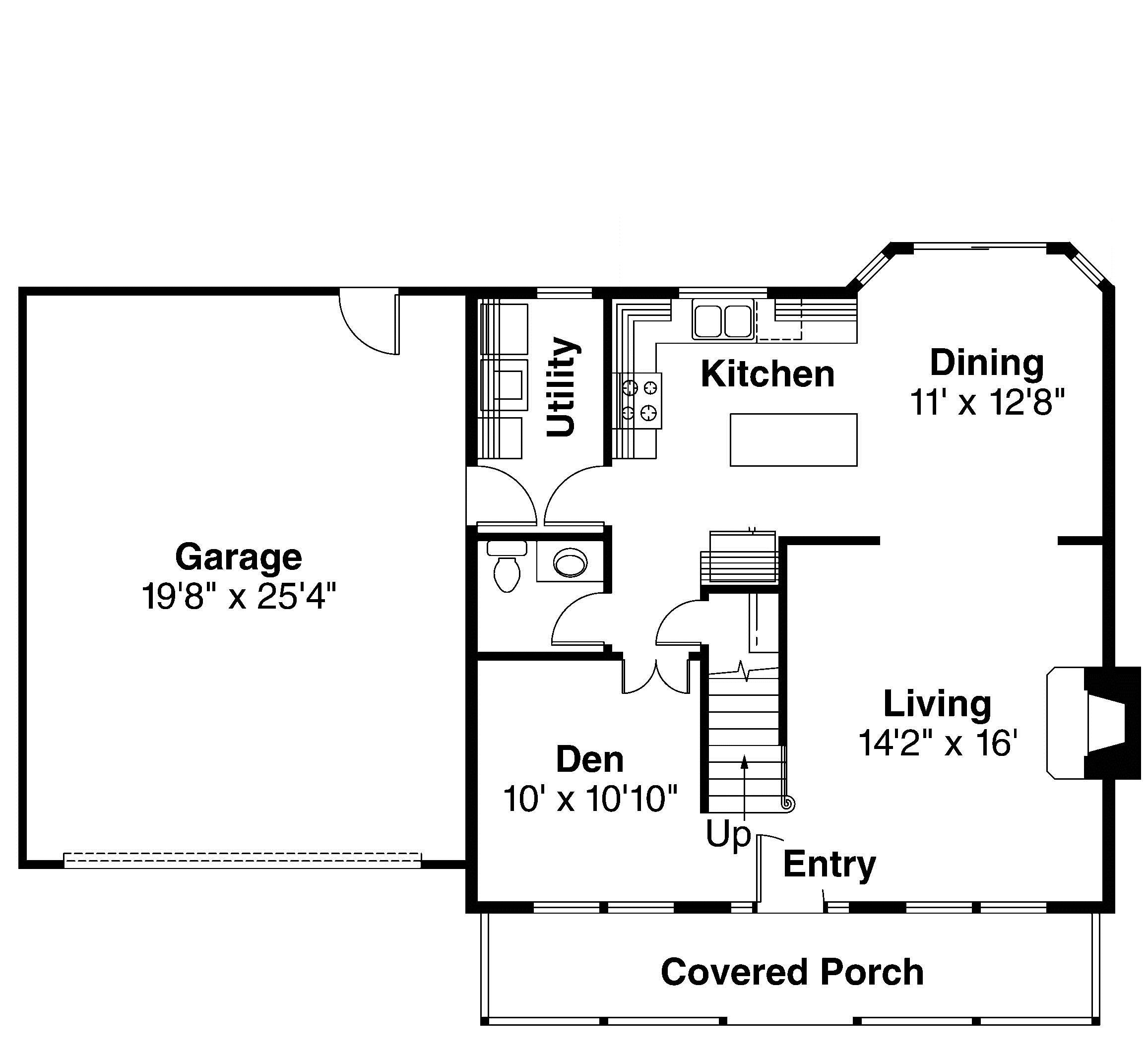 Traditional farm style home plan first floor layout sdl for Custom farmhouse floor plans