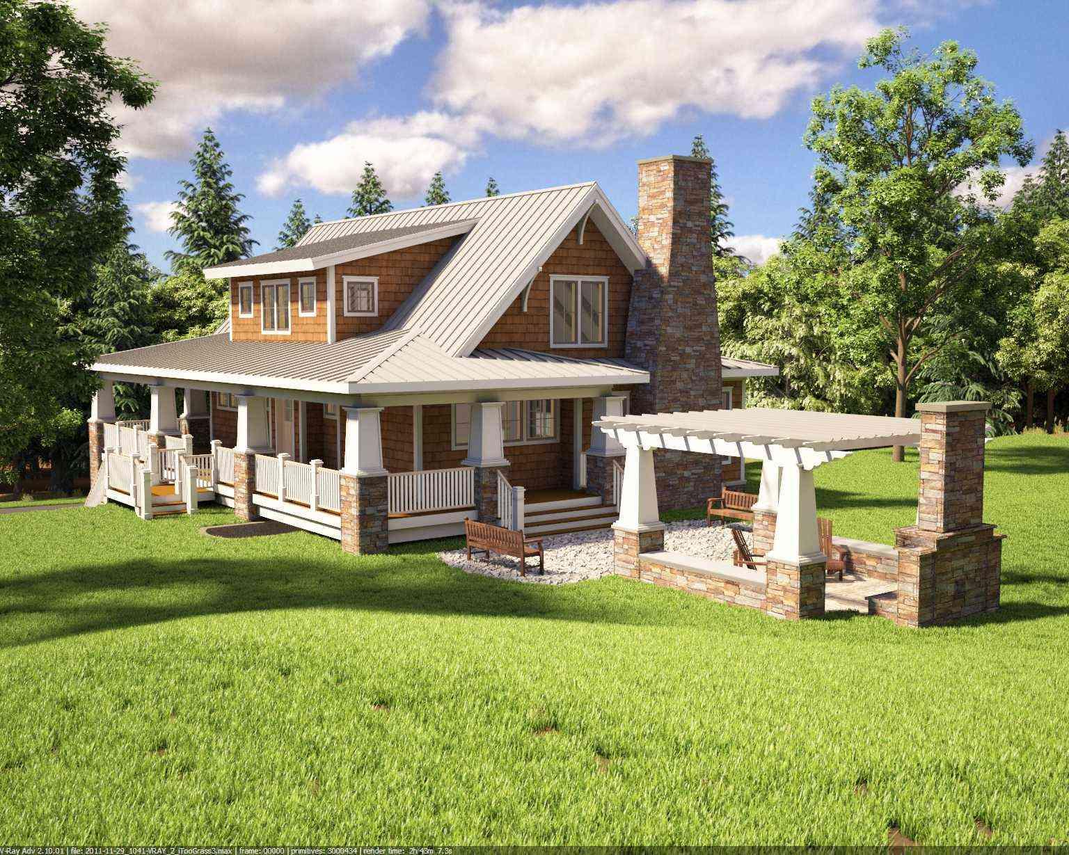 Adorable Cottage cape cod home plan