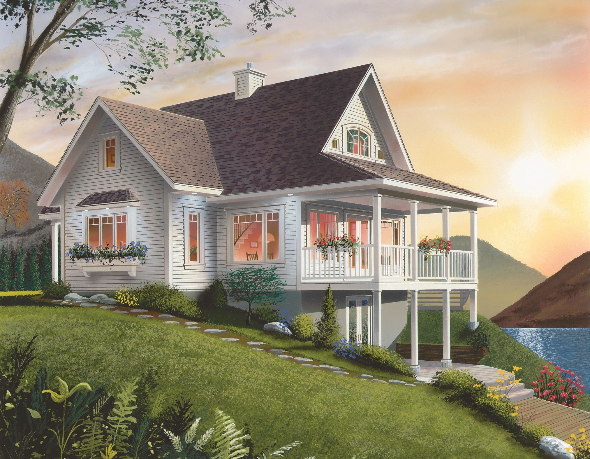 Cottage with Options