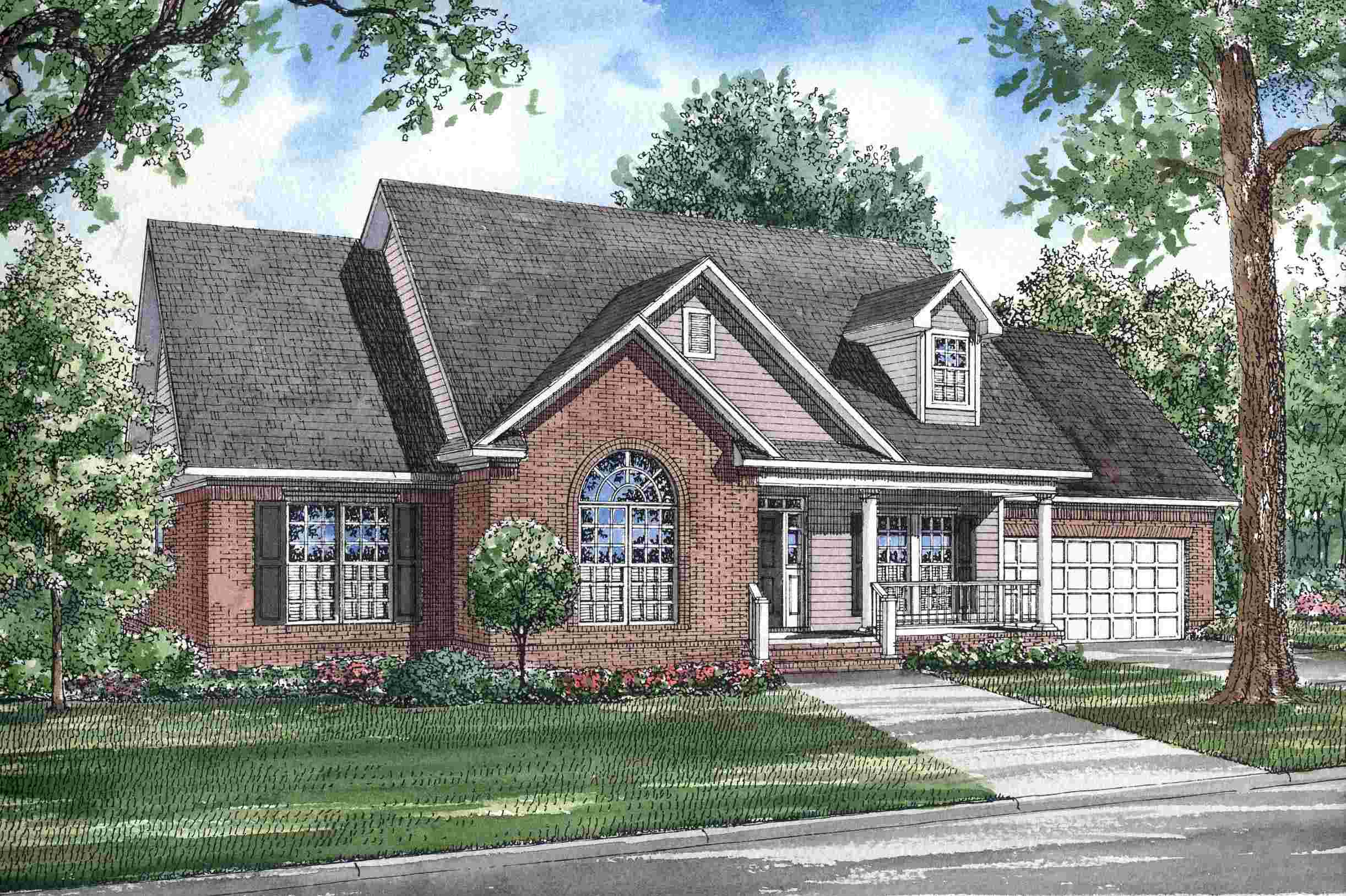 Functional Beauty cape cod home plan