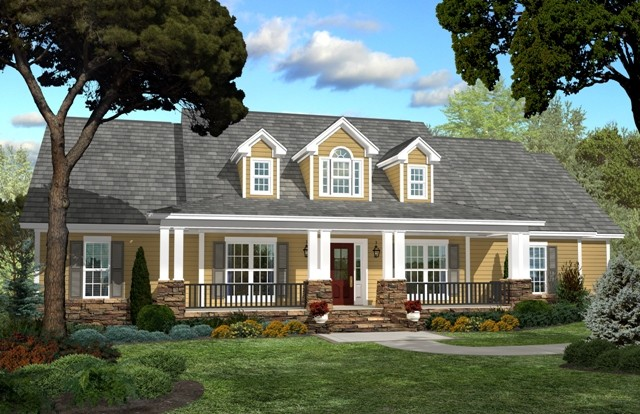 Homeowners Delight cape cod home plan